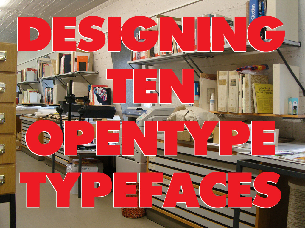 DESIGNING 10 DYNAMIC OPENTYPE TYPEFACES AGAIN!'s video poster