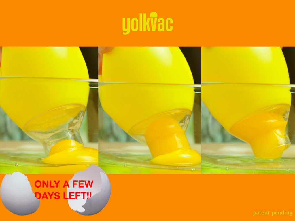YolkVac - A Super Easy and Fun-to-Use Egg Separator's video poster