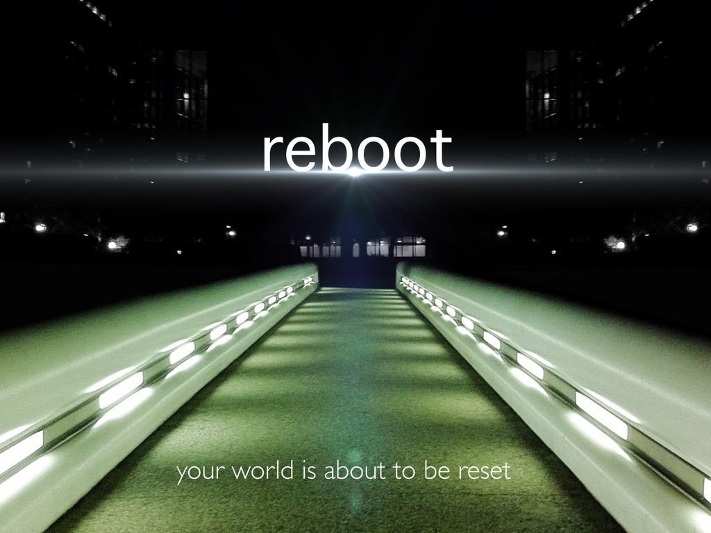 Reboot's video poster