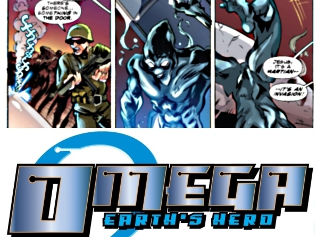 Omega, Issue 1...Crashing into Earth's video poster
