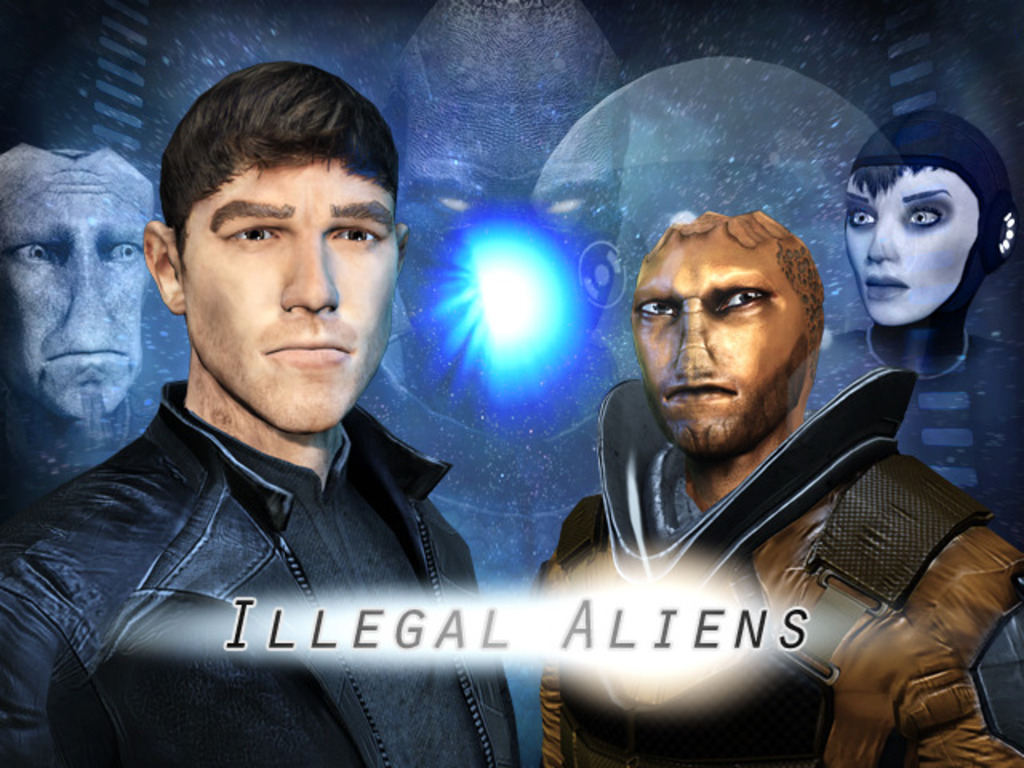 Illegal Aliens's video poster