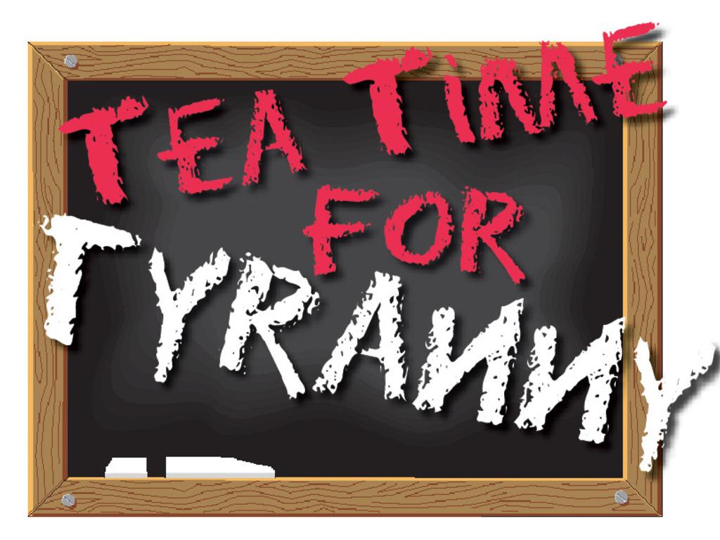 Tea Time for Tyranny's video poster