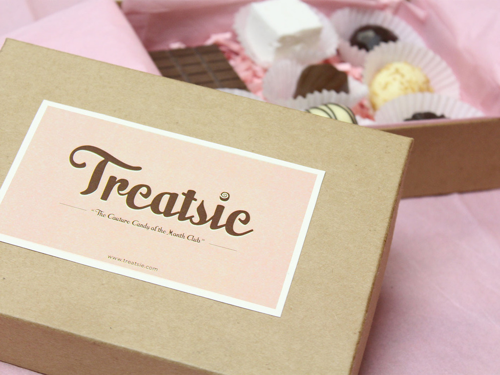 Treatsie - The Couture Candy of the Month Club's video poster