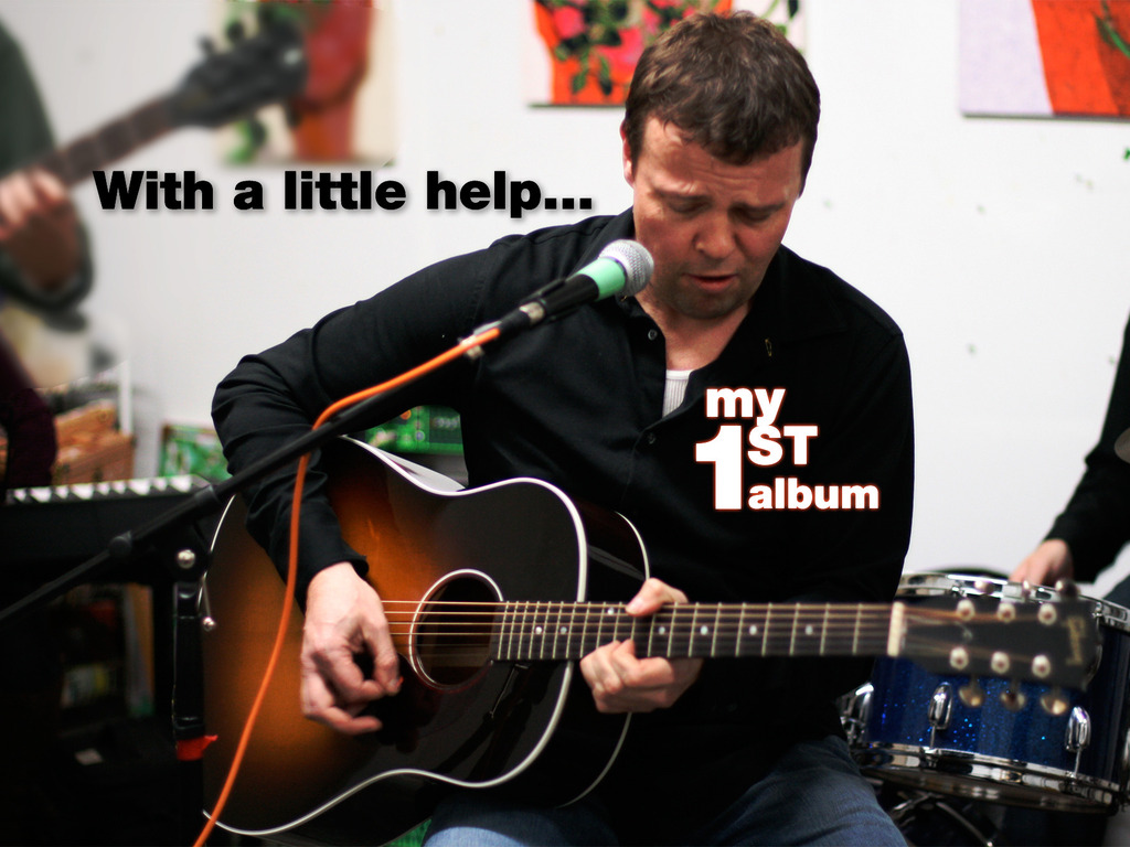 With a little help... my first album's video poster
