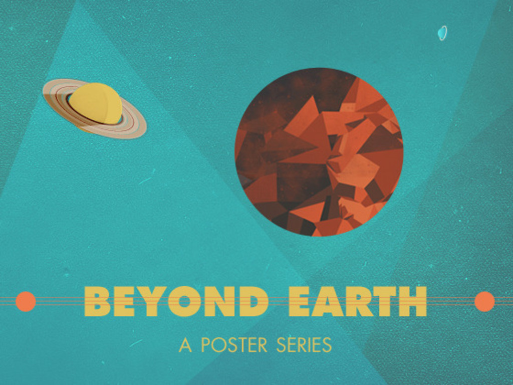 Beyond Earth: A Poster Series's video poster
