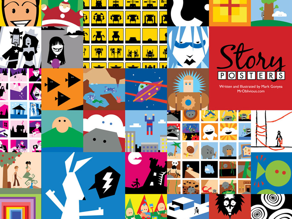 Story Posters (Forty Posters in One Book)'s video poster