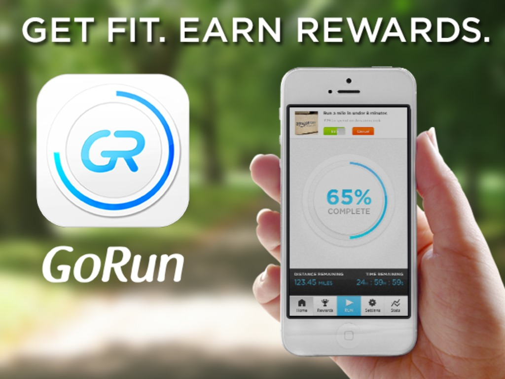 GoRun - A unique new fitness app with real world rewards's video poster