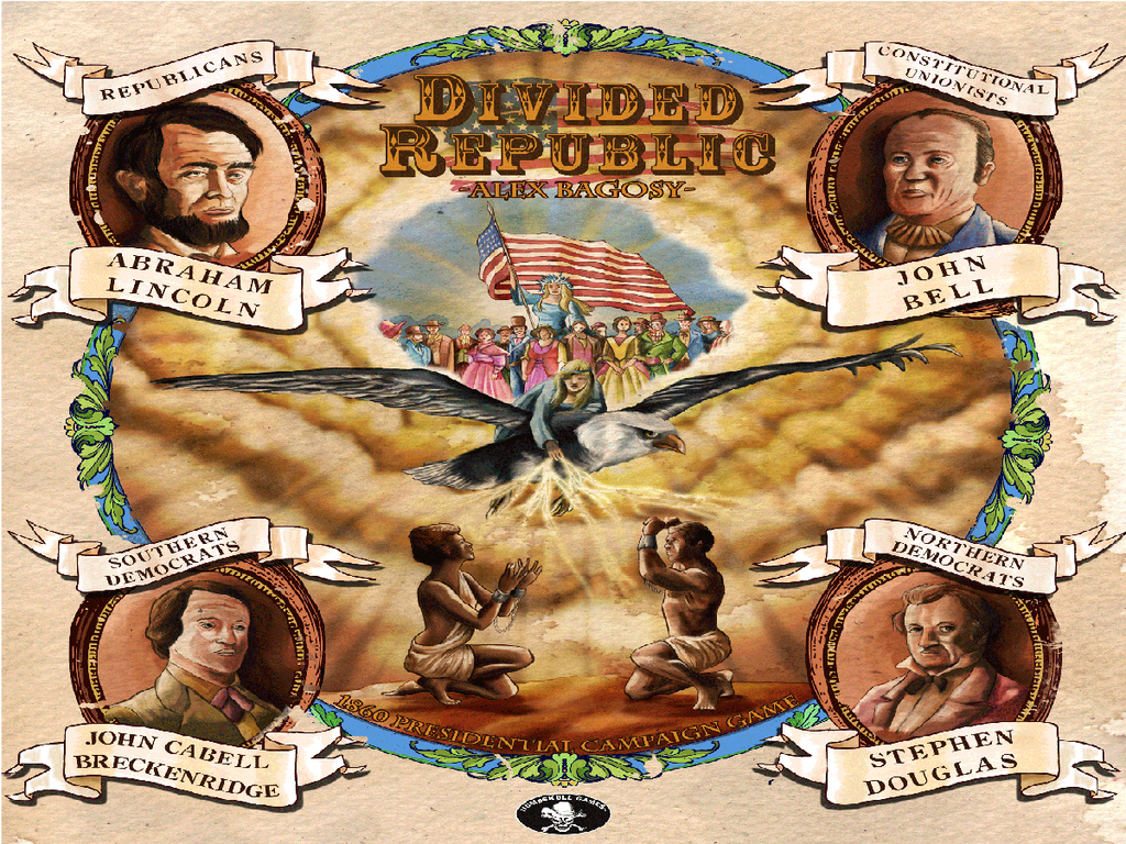 Divided Republic: A Boardgame About the Election of 1860's video poster