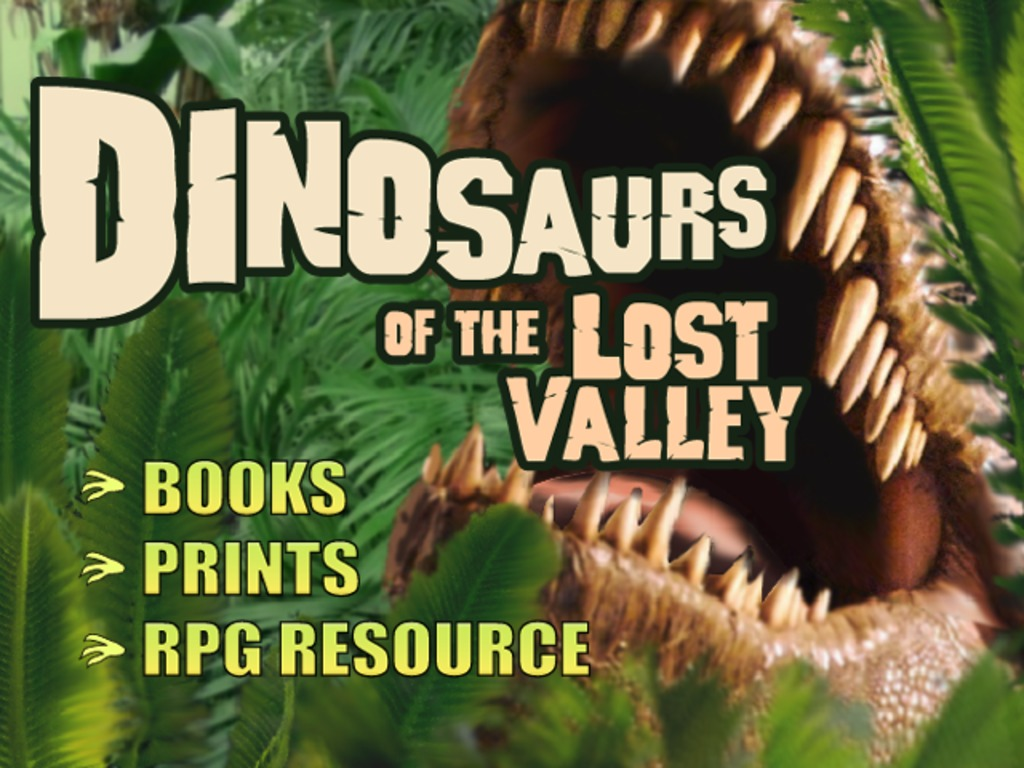 Dinosaurs of the Lost Valley's video poster