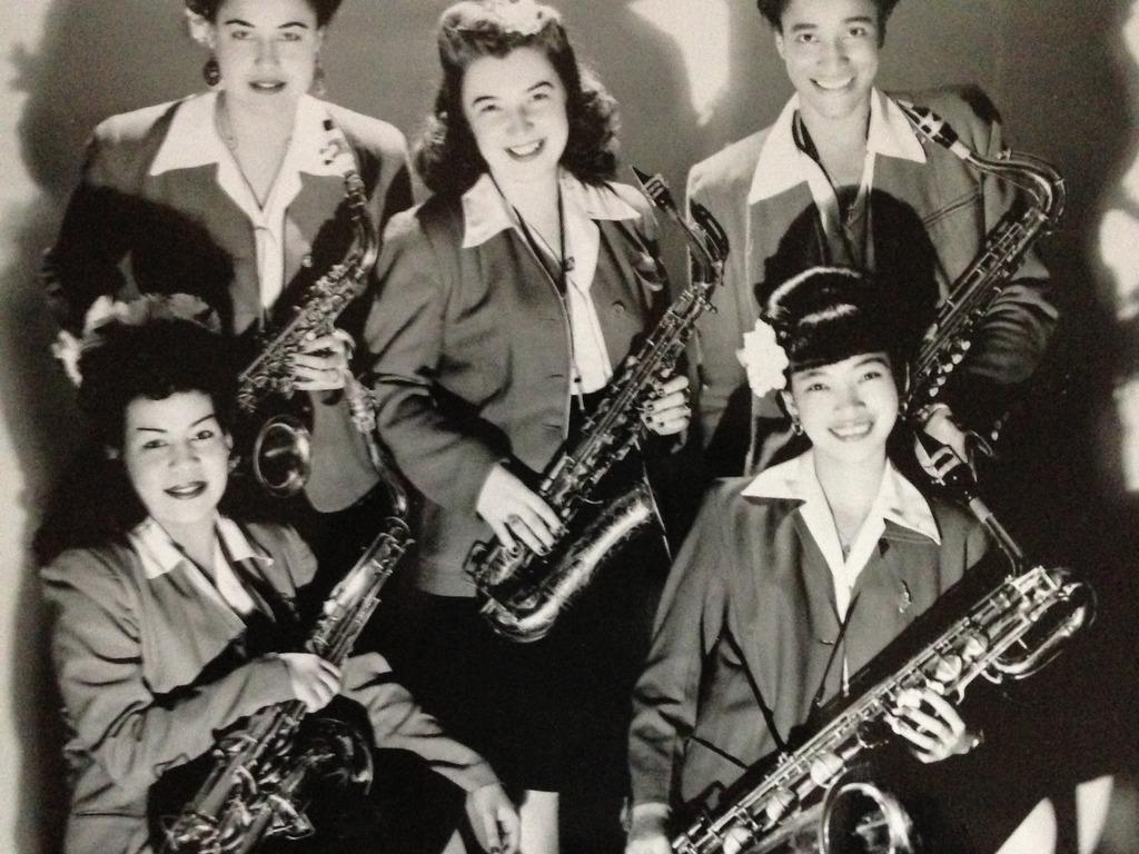 LADY BE GOOD Instrumental Women in Jazz film's video poster