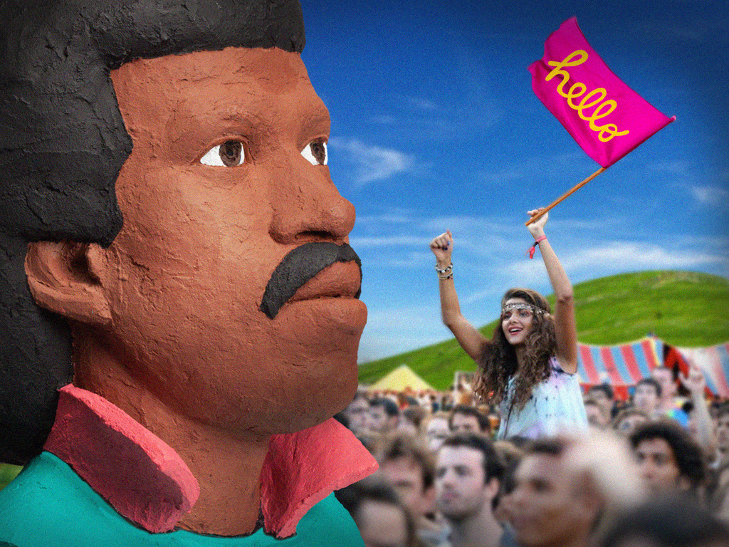 Lionel Richie's Head | Bestival 2013's video poster