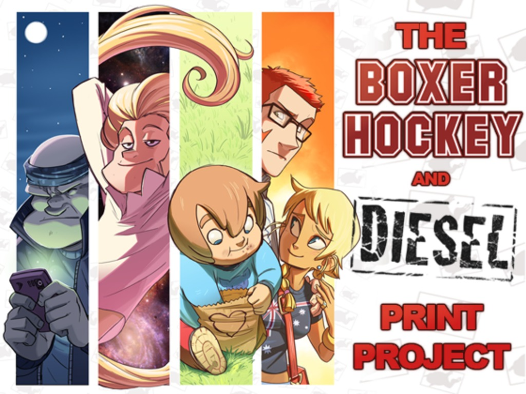 The Boxer Hockey & Diesel Print Project's video poster