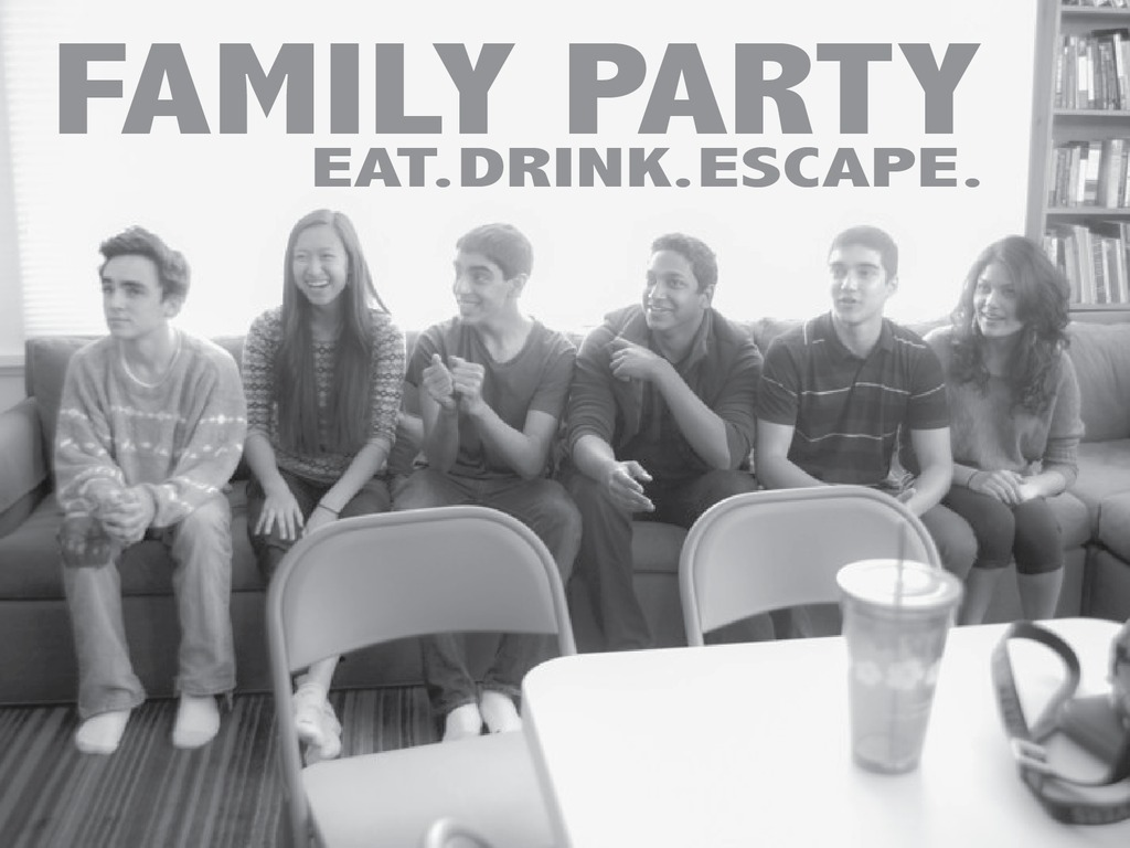 Family Party's video poster