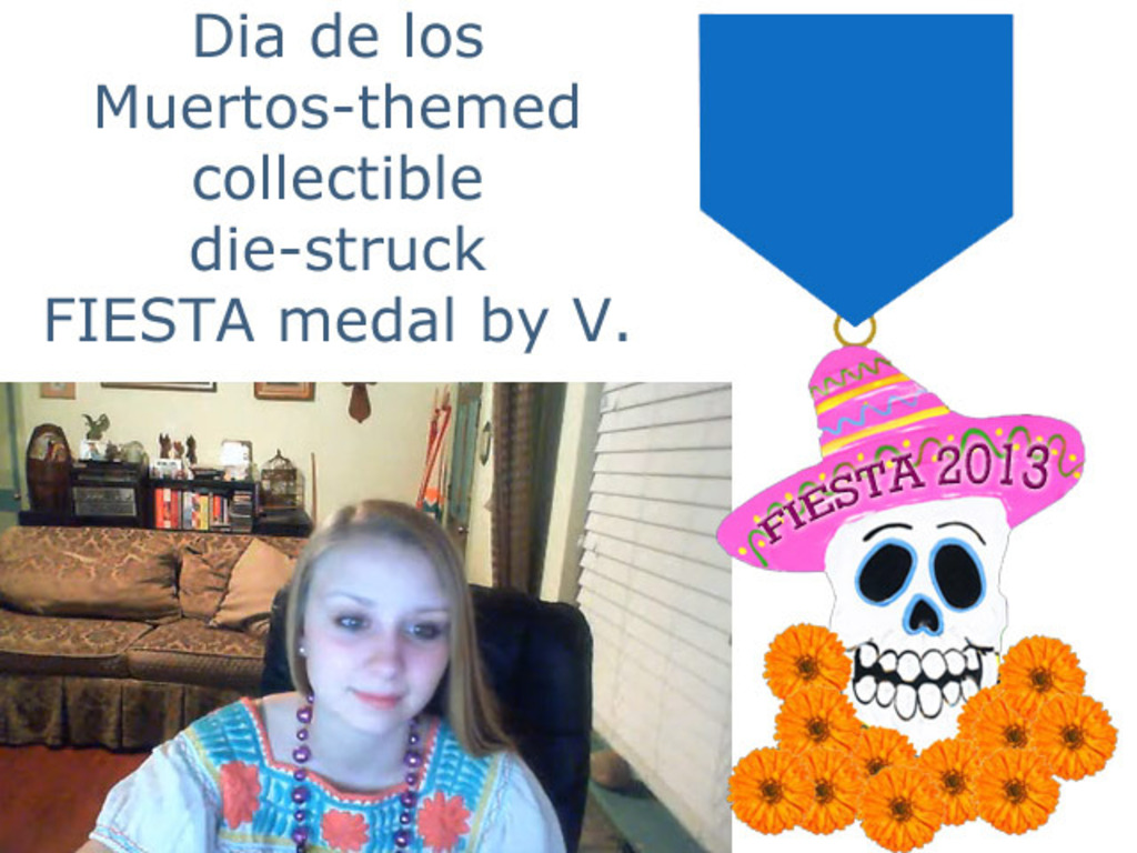 Day of the Dead Fiesta! Medal Collectible Die-Cast Artwork's video poster