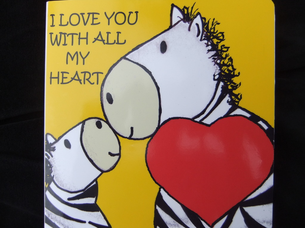 I Love You With All My Heart. A Children's Book's video poster