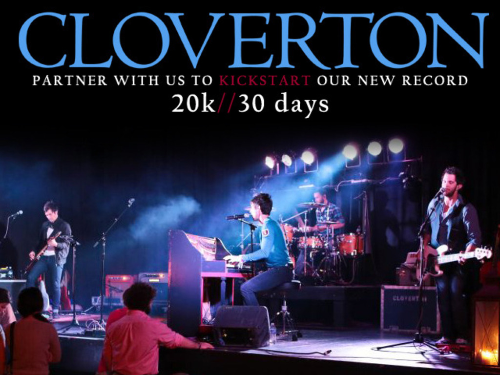 Cloverton - The First Full-Length Album - Coming 2013's video poster