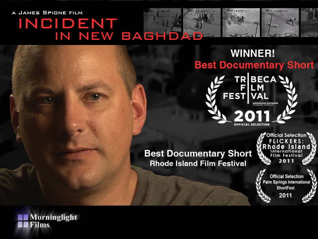 INCIDENT IN NEW BAGHDAD - Oscar-qualifying LA Release's video poster