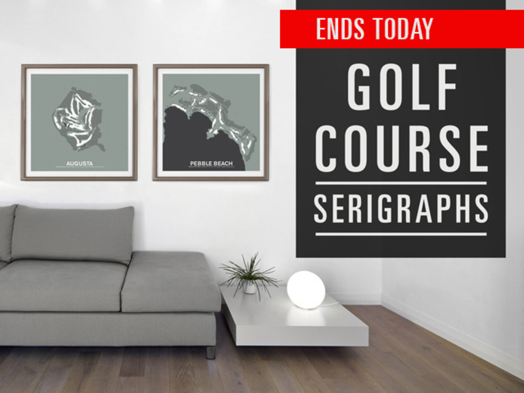 Golf Course Screen Print Series's video poster