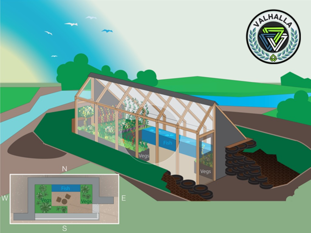 The Farm of the Future: Earthship-Inspired Greenhouse's video poster