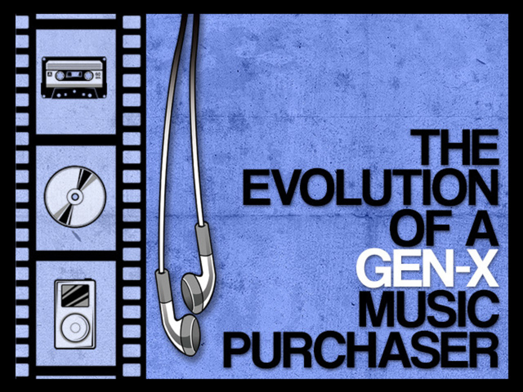 The Evolution of a Gen-X Music Purchaser   A Short Film's video poster