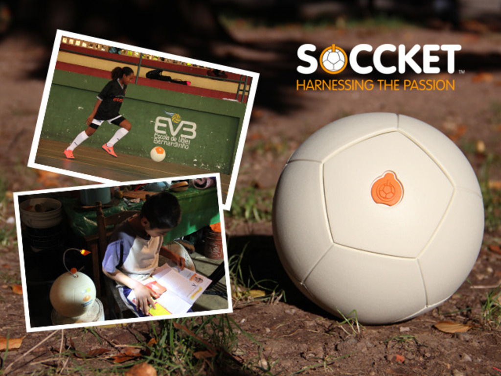 SOCCKET: The Energy-Harnessing Soccer Ball's video poster