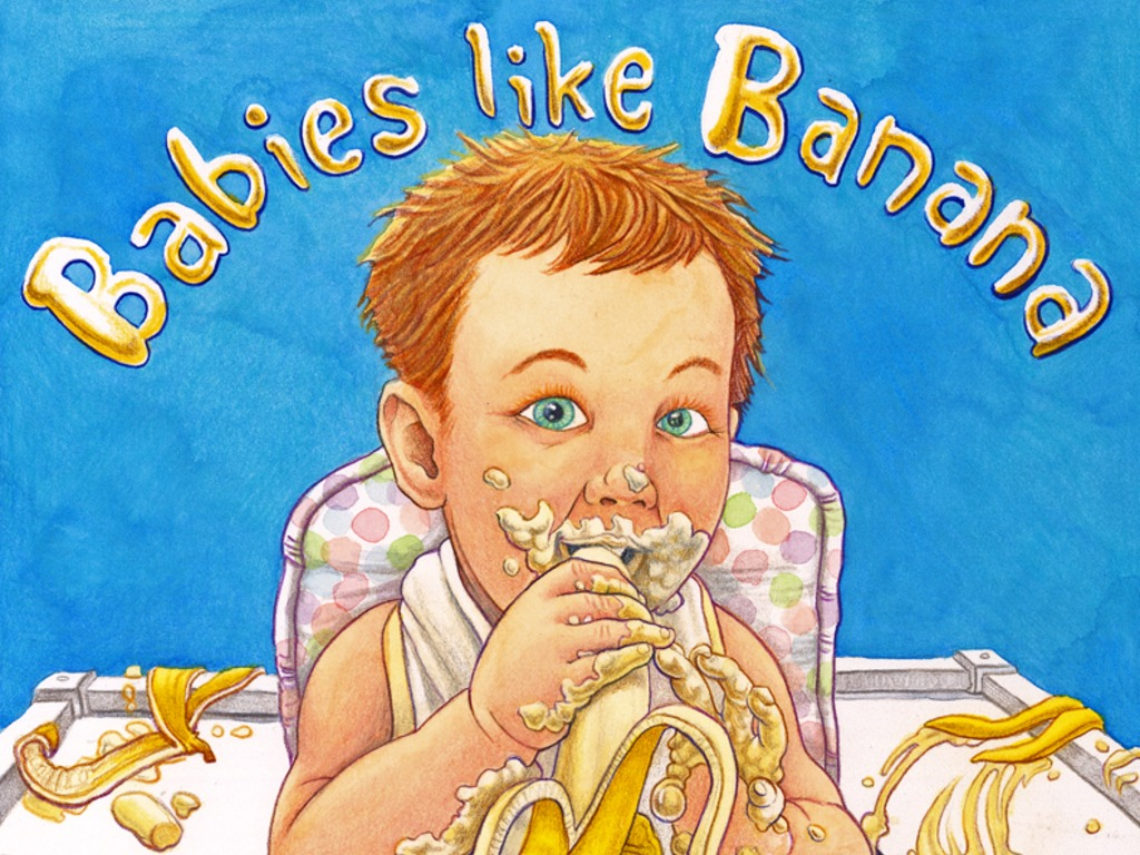 Babies Like Banana - A fun introduction to wholesome foods.'s video poster