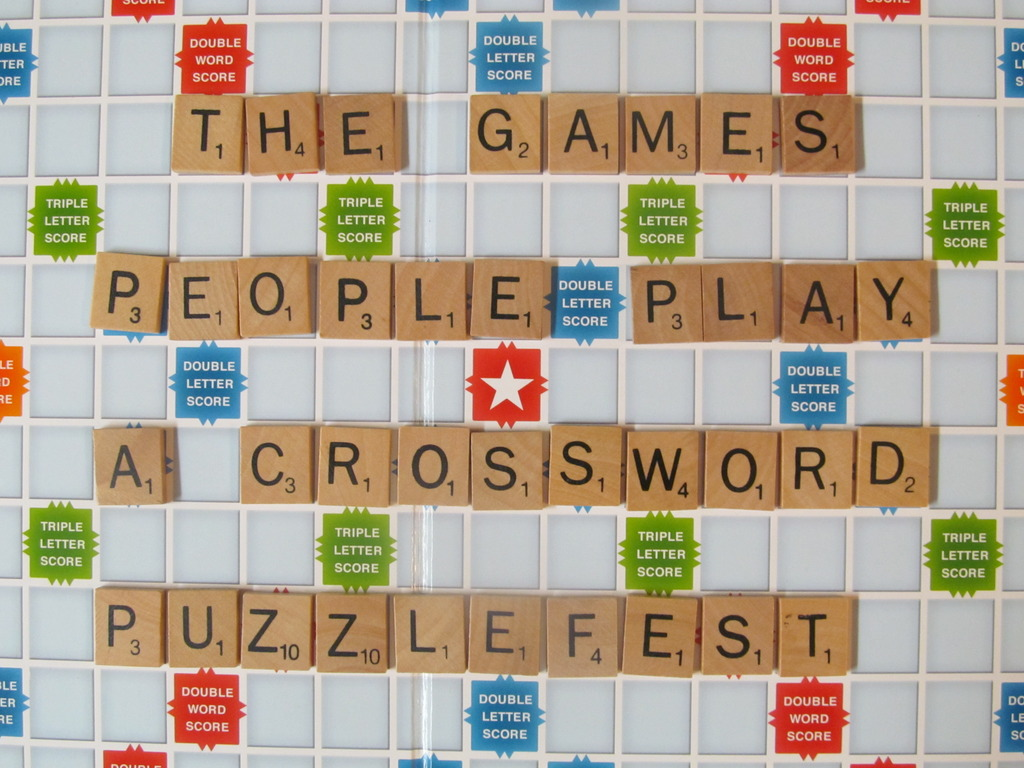 """The Games People Play"" - a Crossword Puzzlefest!'s video poster"