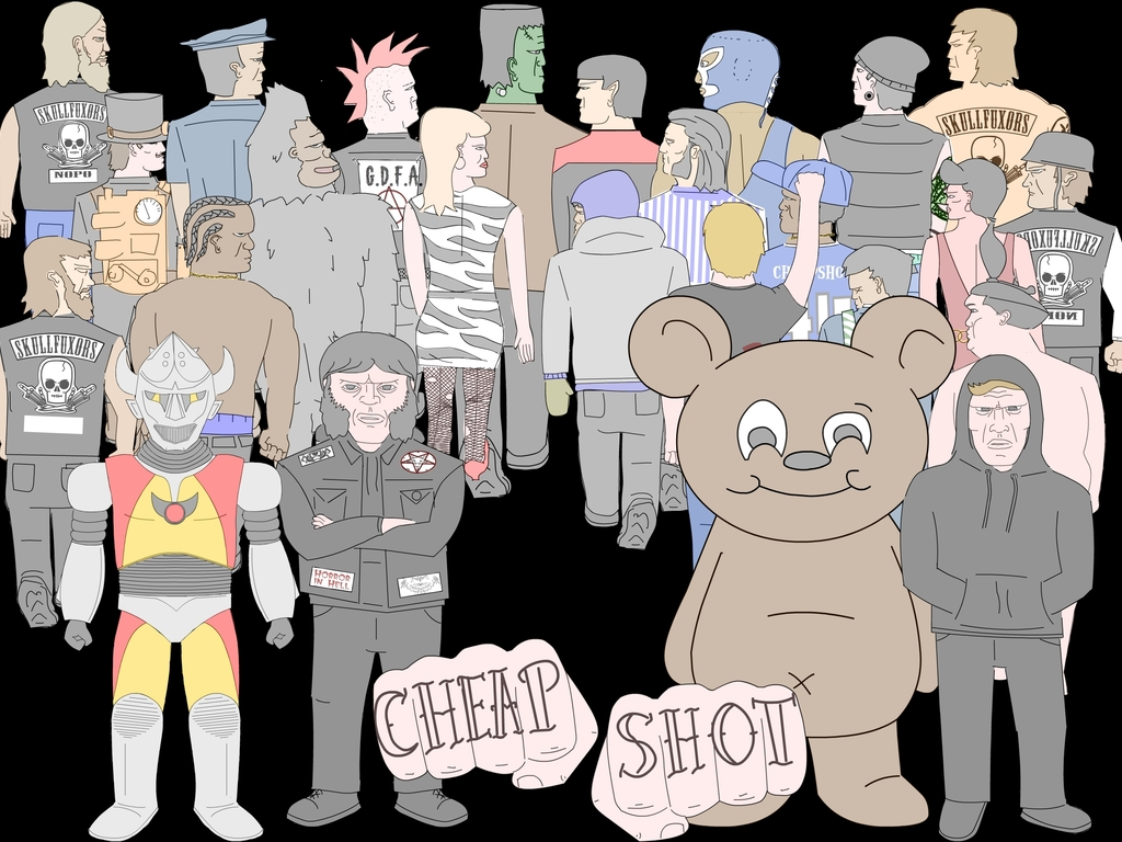 Cheap Shot: A video game crowdpunching frustration simulator's video poster