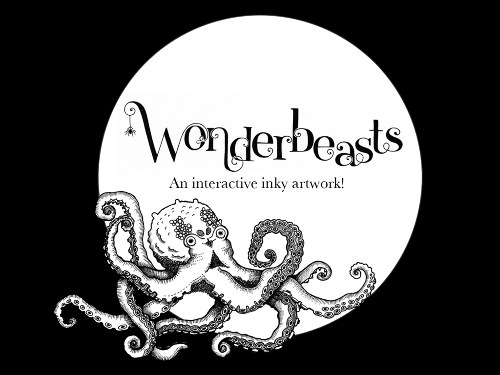 Wonderbeasts : An interactive inky artwork's video poster