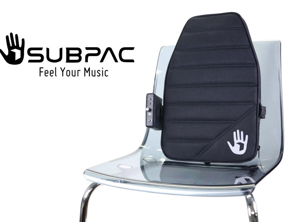 SubPac - Portable Tactile Audio Technology's video poster