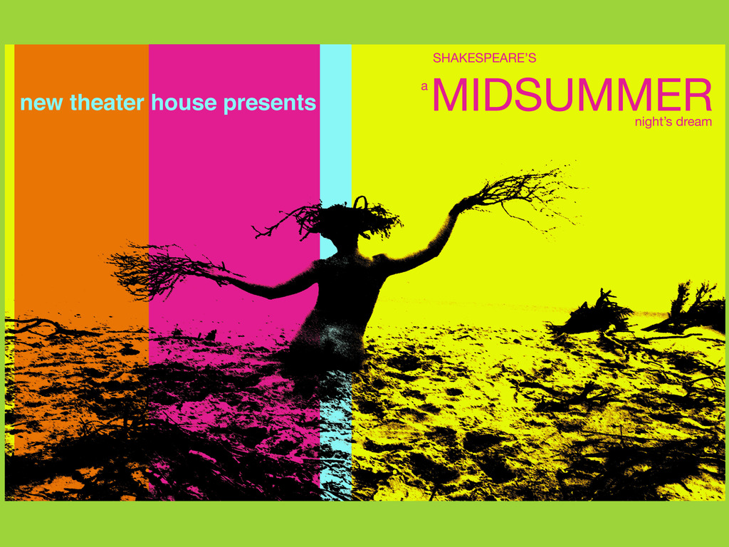 new theater house presents midsummer's video poster