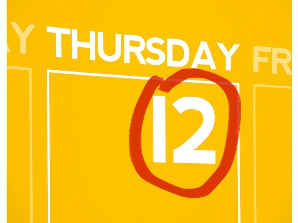Thursday the 12th's video poster