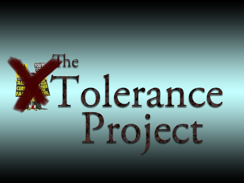 The Tolerance Project: A Counter-protest Documentary's video poster