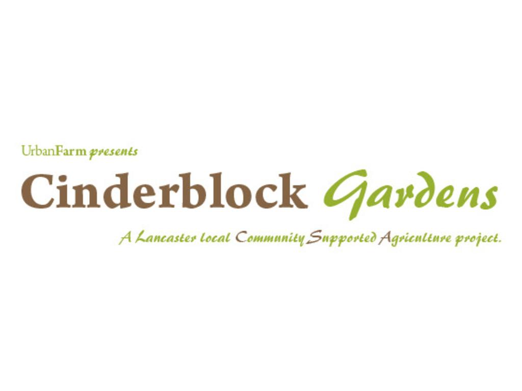 Urban Farm Presents: Cinderblock Gardens, CSA!'s video poster