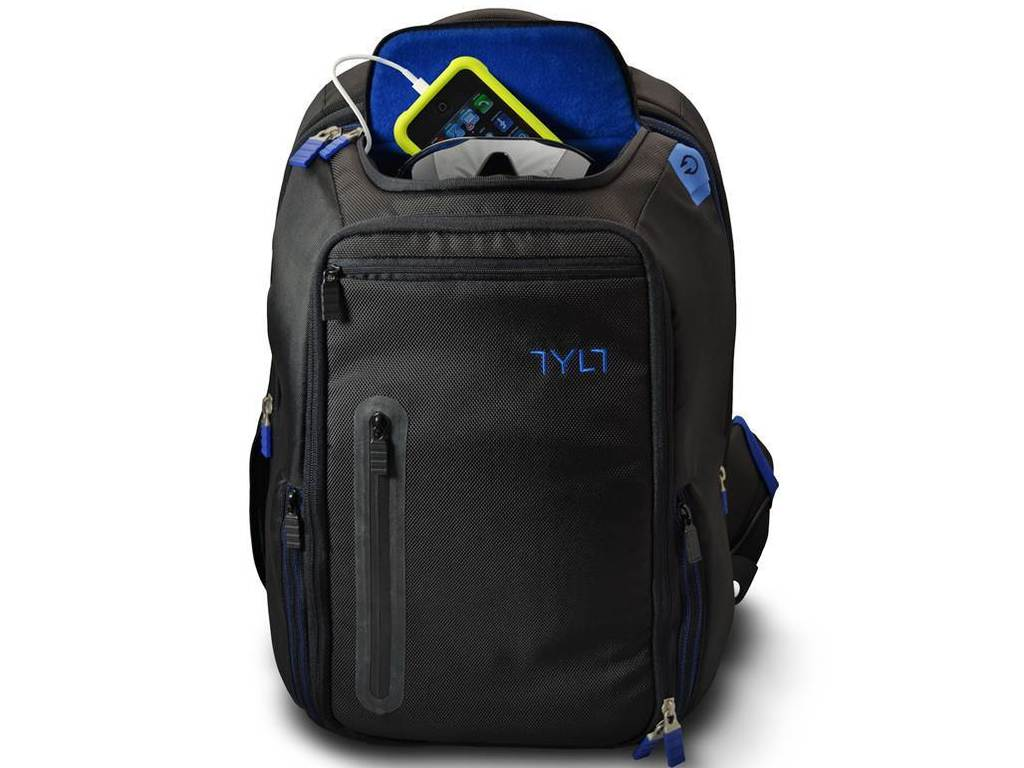 TYLT Energi Backpack - charge your mobile devices on the go.'s video poster
