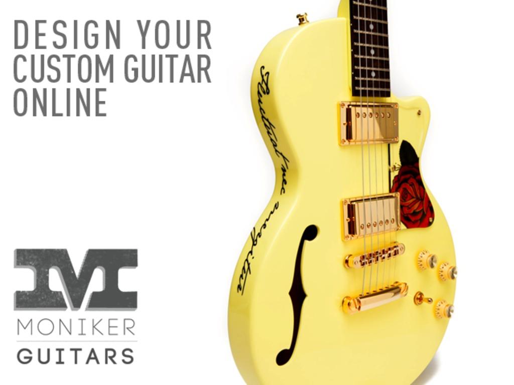 Moniker Guitars: Design Your Dream Guitar Online's video poster