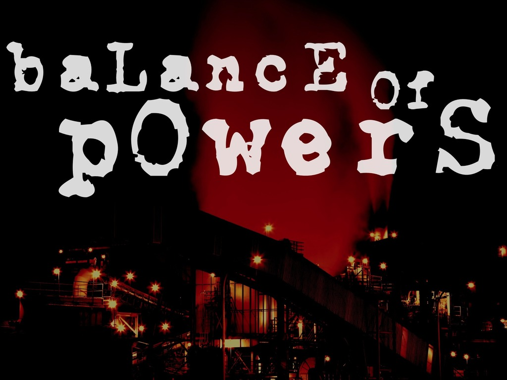 Balance of Powers's video poster