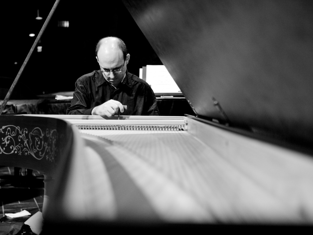 Joseph Gascho - Debut Solo Harpsichord Recording's video poster