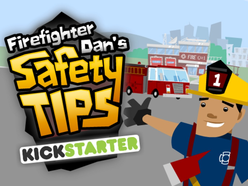 The Firefighter Dan Show-- Safety Tips's video poster