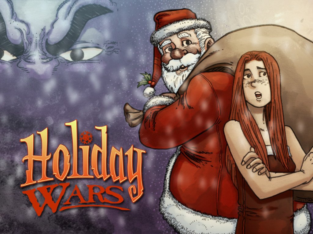 Holiday Wars Volume 1: The Holiday Spirit (Canceled)'s video poster