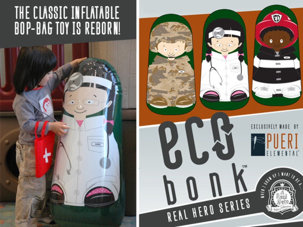 Eco-Bonk: A New Generation of Inflatable Bop Toy's video poster