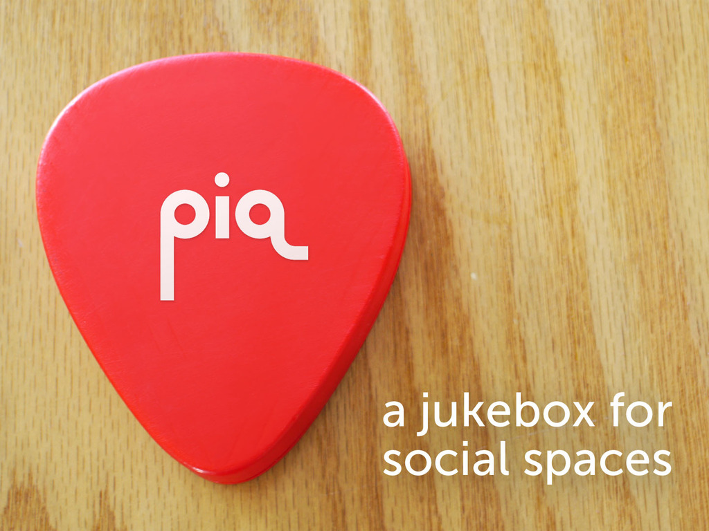 piq: a jukebox for social spaces's video poster