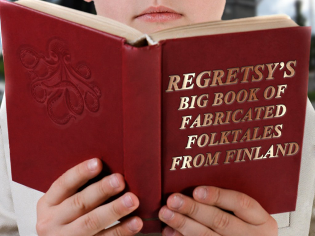 Regretsy's Big Book of Fabricated Folktales from Finland's video poster