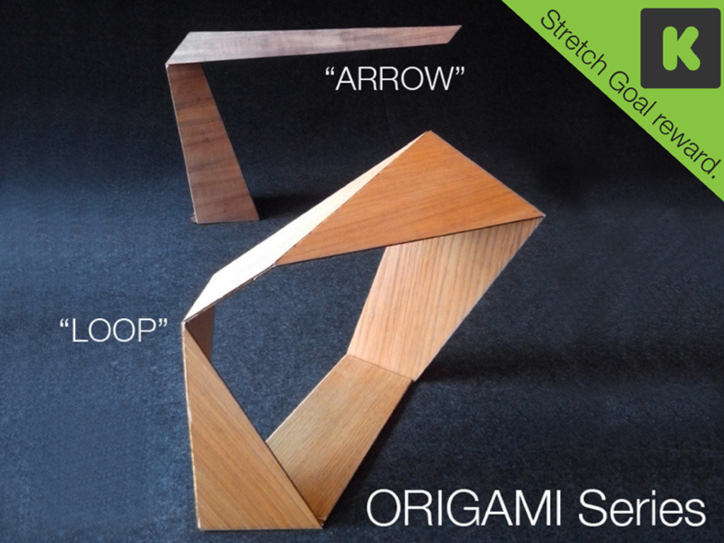 Origami wood lamp series's video poster