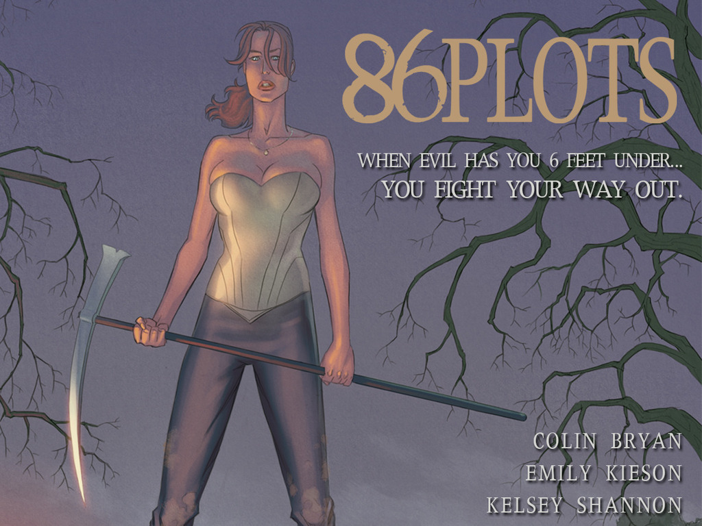 86 Plots - A Thrilling New Graphic Novel.'s video poster