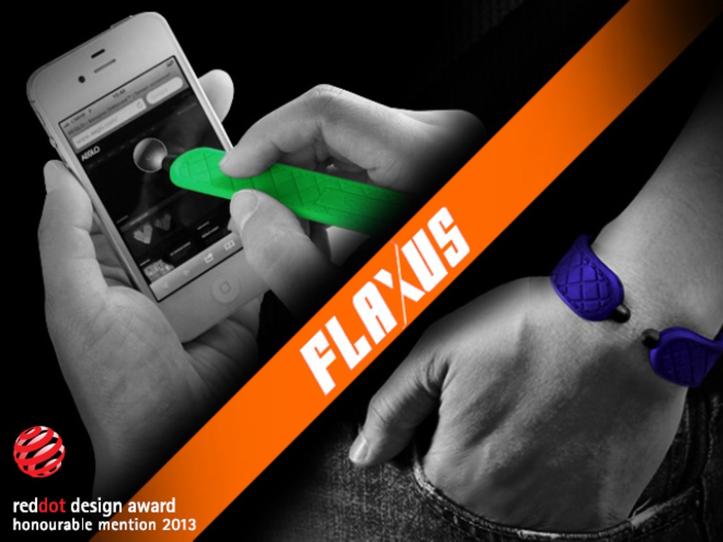 FLAXUS | Wearable Mobile Device Stylus's video poster