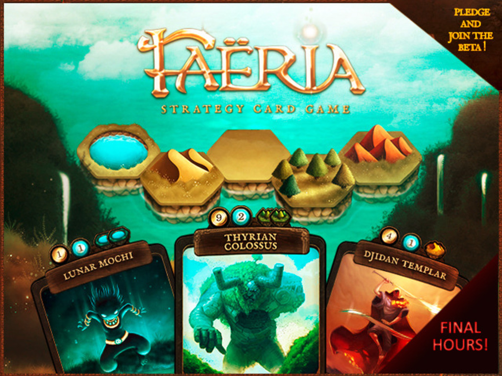 Faëria - Strategy Card Game's video poster
