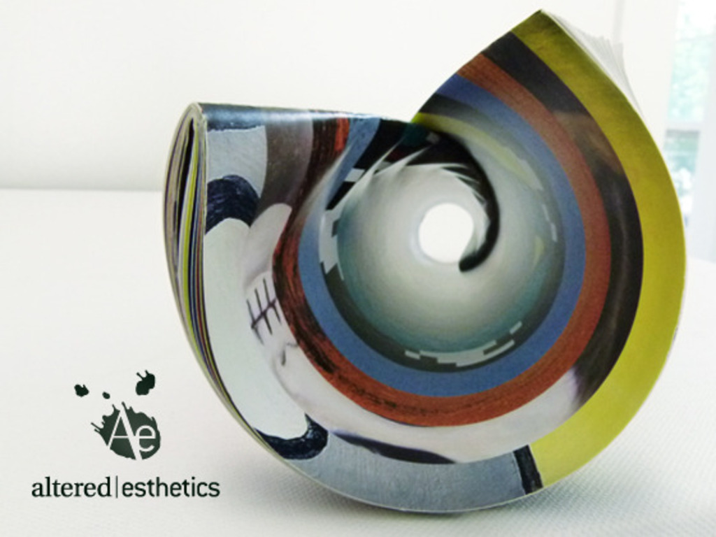 Help print Altered Esthetics' 2012 Artists Calendar!'s video poster