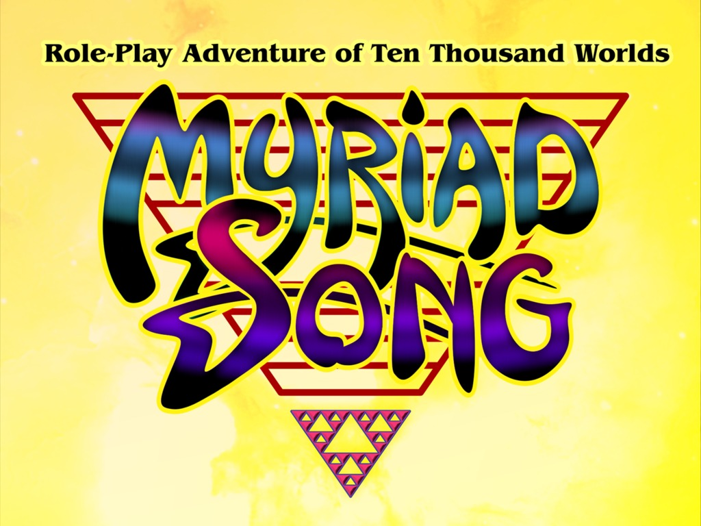 MYRIAD SONG - Science Fiction Tabletop RPG of 10,000 Worlds's video poster