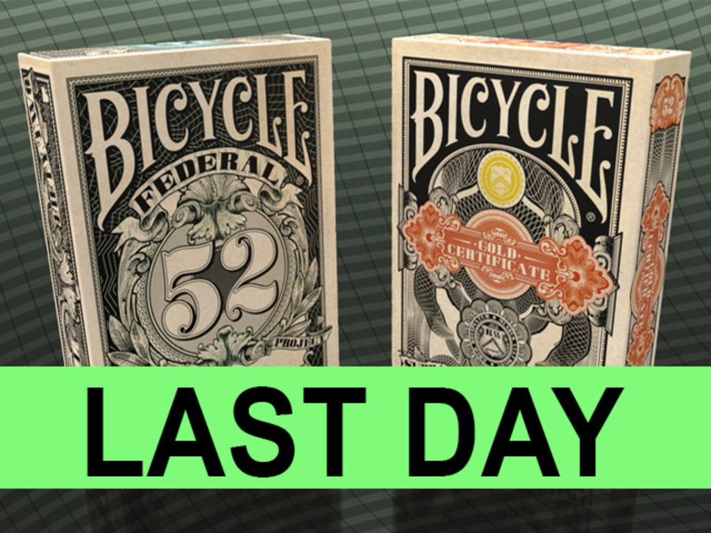 Federal 52 - A NEW Bicycle Playing Card Deck's video poster